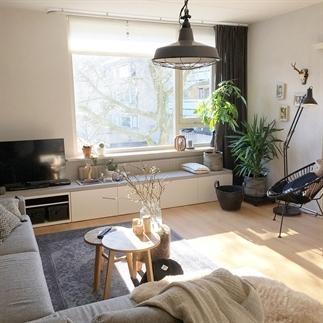 Binnenkijken in Dionne's appartement