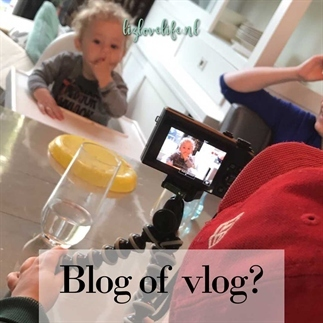 Blog of vlog?