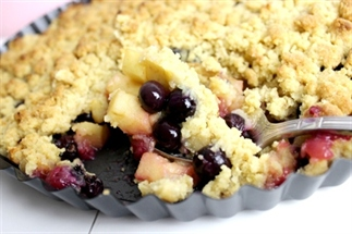 Blueberry Crumble | Food