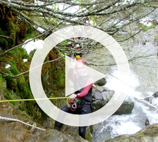 Canyoning in de Oostenrijkse sneeuw