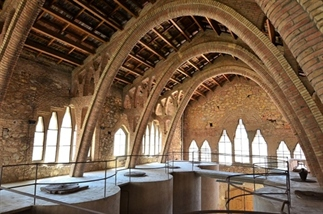 Catedral del Vi wonderschoon wijnpaleis