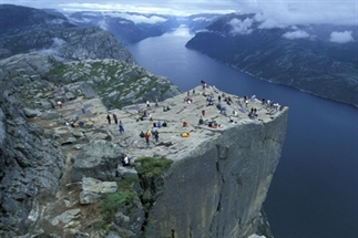 Cityhoppen in de fjorden van Noorwegen