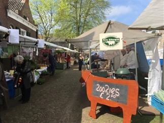 De streekmarkt Twente in Delden