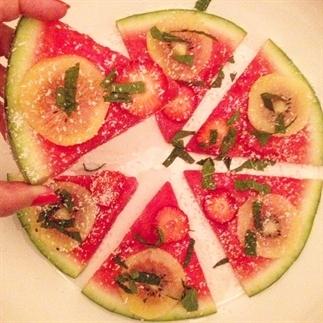 Detox zomersnack met watermeloen!