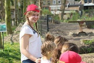 Dierenverzorger worden in Kasteelpark Born
