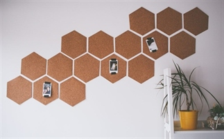 DIY: Geometrisch prikbord