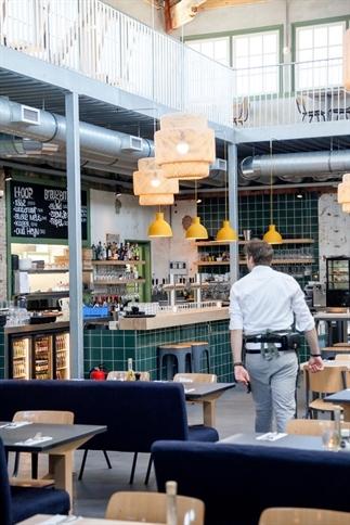 Hotspot op het Hembrugterrein: restaurant Lab-44