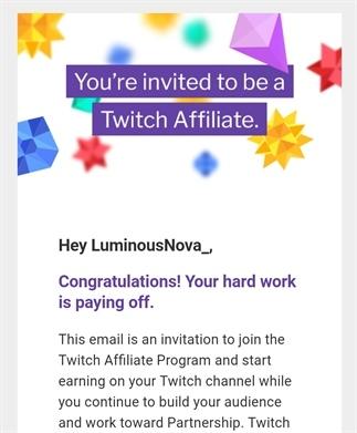 Ik ben Twitch Affiliate geworden!