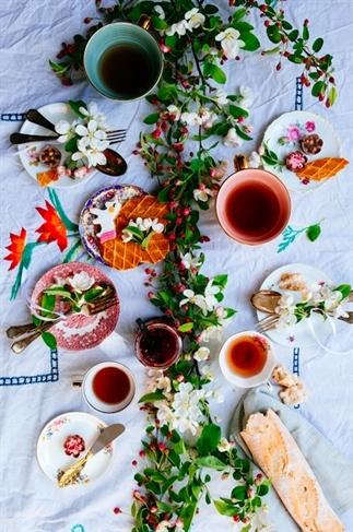 Je tafel stylen met bloesem