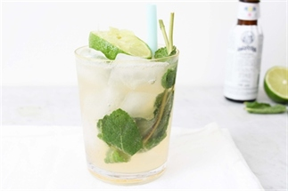 Minty Moscow Mule recept
