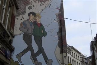 Ontdekkingstocht langs de street art van Brussel