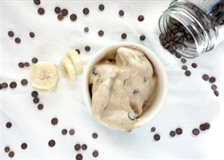 Speculoos choco chip nicecream