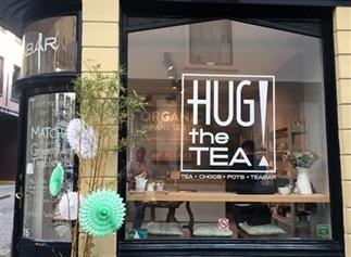 SUPER GEZONDE MATCHA TEA BIJ HUG THE TEA DEN HAAG!