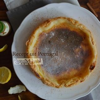 Taart de Pastéis de nata / Roomtaart