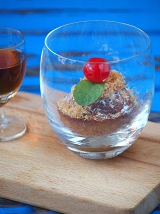 Tropische Rum gebakjes