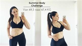 Van 69,3 naar 67,4 kilo in een week