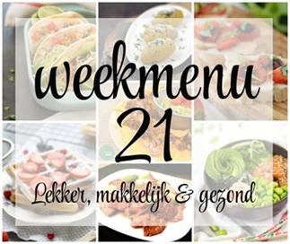 Weekmenu 21