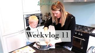 Weekvlog 11 | Samen een appeltaart bakken