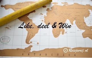 Wereld kraskaart winnen?