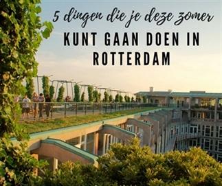 5 x zomerse activiteiten in Rotterdam