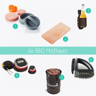 6x BBQ musthaves!