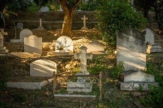 De Engelse begraafplaats in Malaga