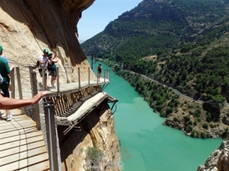 De mooiste wandeling van Spanje: Caminito del Rey
