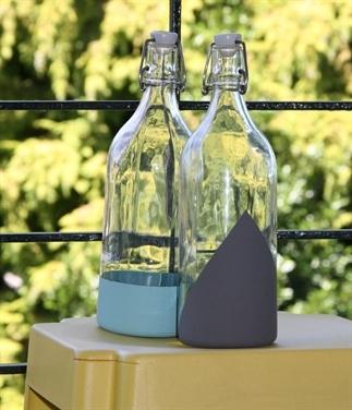 DIY: Flessen versieren