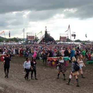 Fotoblog Glastonbury Festival