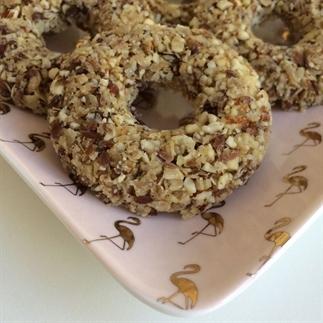 Granola donuts