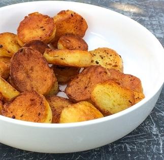 Heerlijke gebakken aardappeltjes