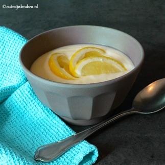 Homemade citroenvla