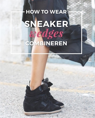 How to wear: Sneaker wedges