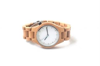 Mijn nieuwe houten horloge