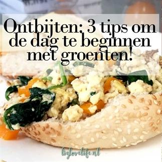 Ontbijten: 3 tips om de dag te beginnen met groent