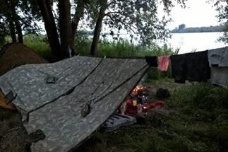 Per kano door de Biesbosch en overnachten!
