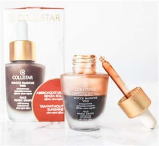Perfecte Tan met Collistar Magic Face Drops