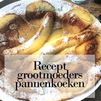 Recept grootmoeders pannenkoeken
