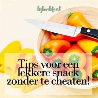 Tips voor een lekkere snack zonder te cheaten!