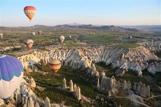 Turkije reisverslag: Magische ballonvaart