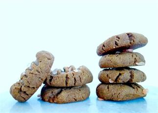Vegan sea salted speculoos koekjes