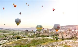Vlieg over Cappadocië in een luchtballon!