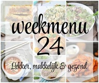 Weekmenu 24