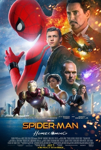 Fillmrecensie: Spider-Man Homecoming