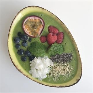 Groene smoothie bowl