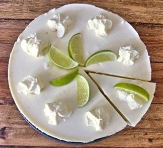 Limoen kwarktaart voor een zomerse verjaardag
