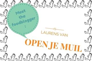 Meet the Foodblogger: Laurens van Open je Muil