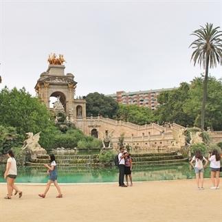 Met m'n jetlag in Barcelon
