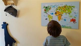 Op de (wereld)kaart