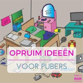 Opruim ideeën voor pubers (zonder garantie!)